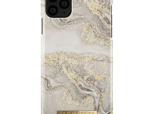 iDeal of Sweden iDeal Fashion Hardcase Sparkle Greige Marble iPhone 11 Pro Max