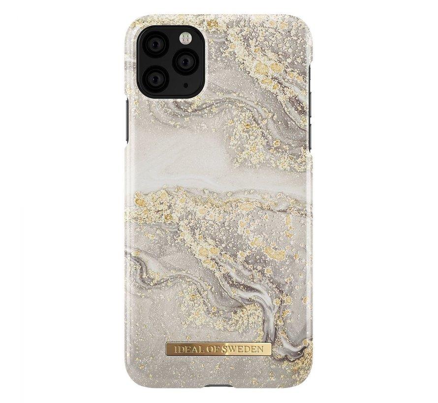 iDeal Fashion Hardcase Sparkle Greige Marble iPhone 11 Pro Max