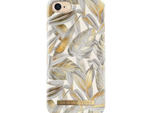 iDeal of Sweden iDeal Fashion Hardcase Platinum Leaves iPhone 8/7/6/6s
