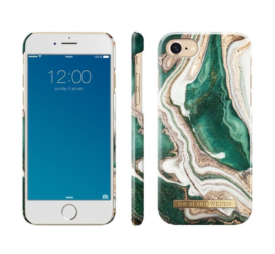 iDeal Fashion Hardcase Golden Jade Marble iPhone 8/7/6/6s