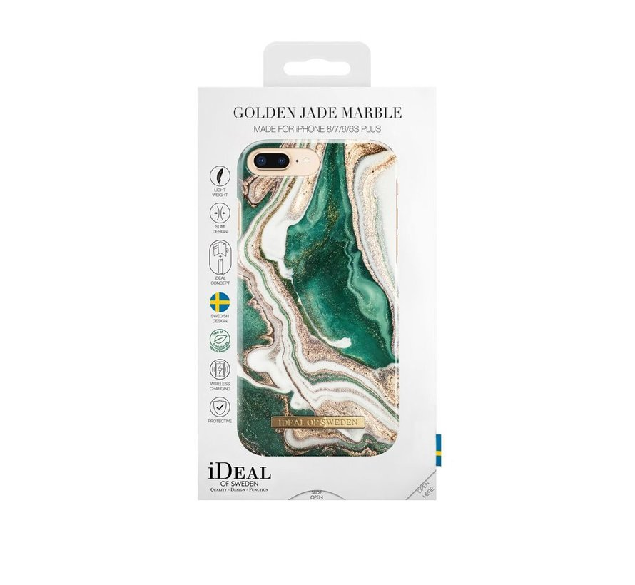 iDeal Fashion Hardcase Golden Jade Marble iPhone 8/7/6/6s Plus