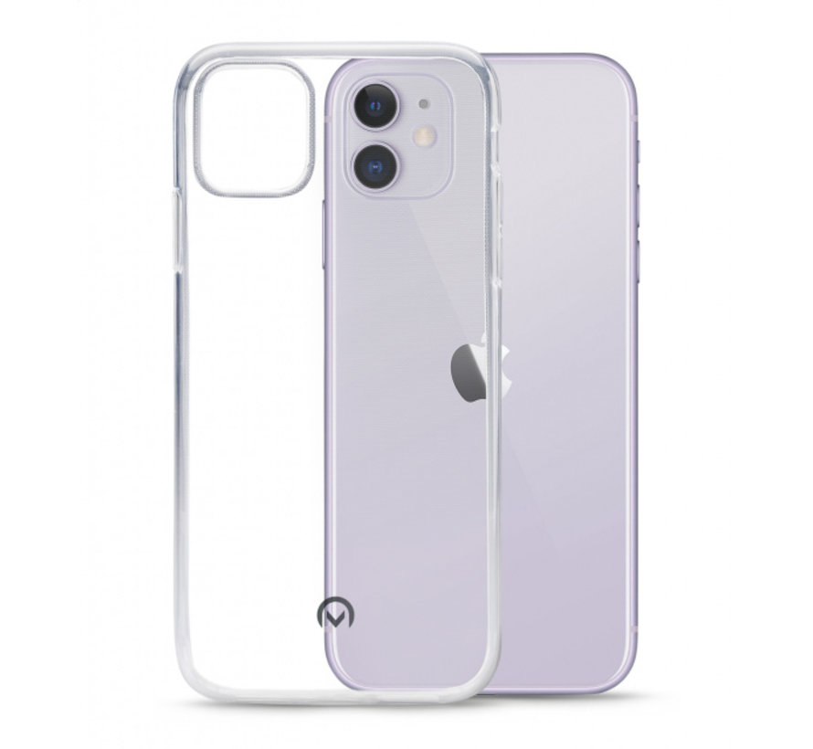 Mobilize Siliconen Case Gelly iPhone 11 Transparant