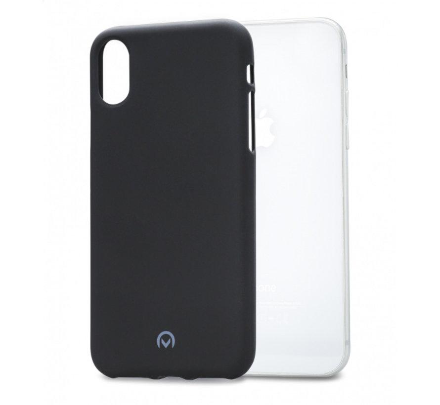 Mobilize Siliconen Case Gelly iPhone X Mat Zwart