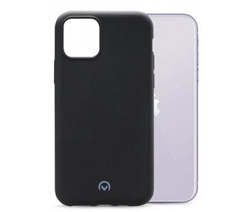 Mobilize Mobilize Siliconen Case Gelly iPhone 11 Mat Zwart