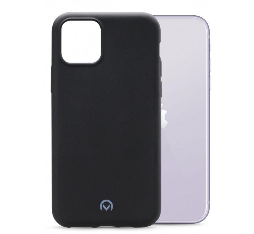 Mobilize Siliconen Case Gelly iPhone 11 Mat Zwart