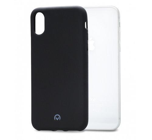 Mobilize  Mobilize Siliconen Case Gelly iPhone XR Mat Zwart