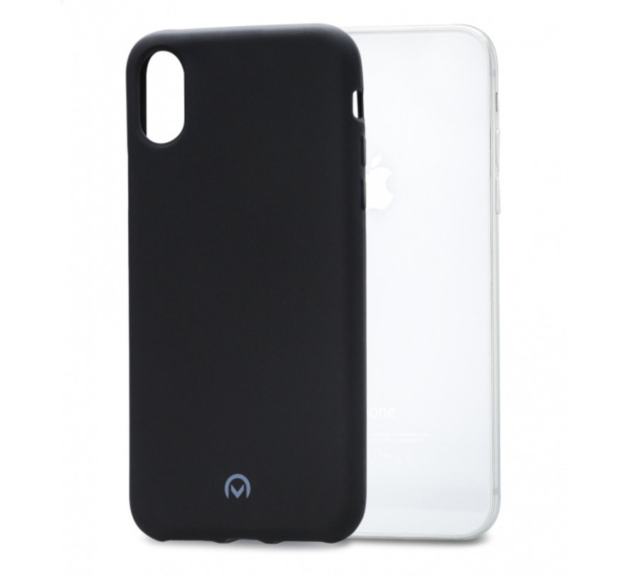 Mobilize Siliconen Case Gelly iPhone XR Mat Zwart