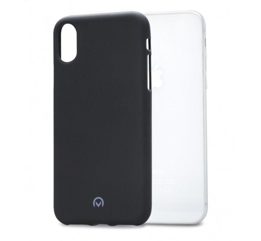 Mobilize Siliconen Case Gelly iPhone Xs Mat Zwart