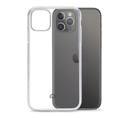 Mobilize Mobilize Siliconen Case Gelly iPhone 11 Pro Max Transparant