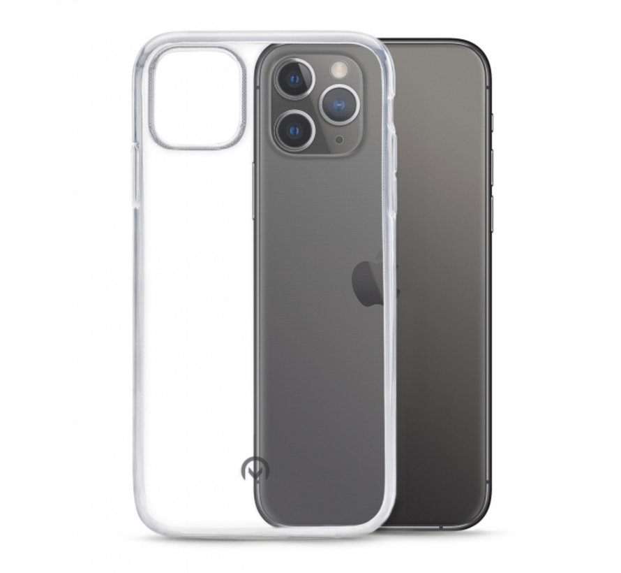 Mobilize Siliconen Case Gelly iPhone 11 Pro Max Transparant