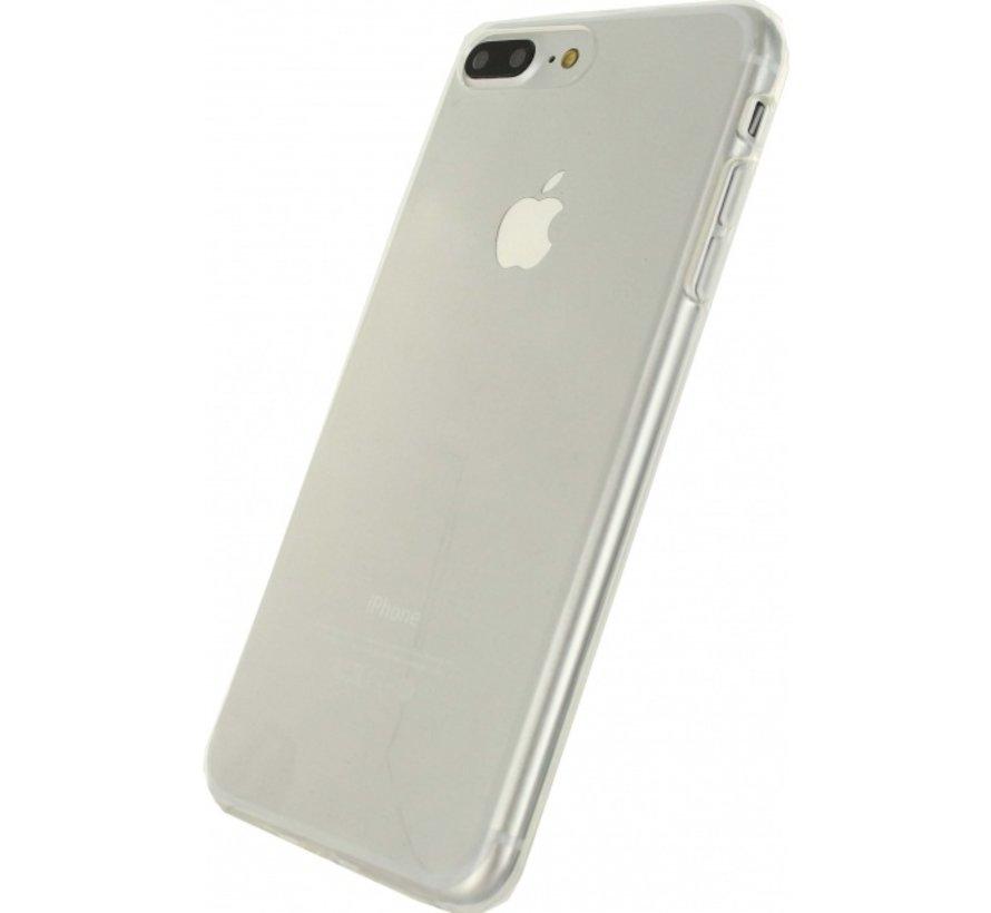 Mobilize Siliconen Case Gelly iPhone 7/8 Plus Transparant