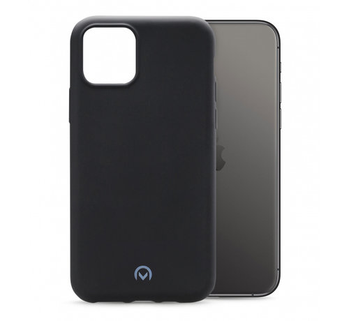 Mobilize Mobilize Siliconen Case Gelly iPhone 11 Pro Mat Zwart