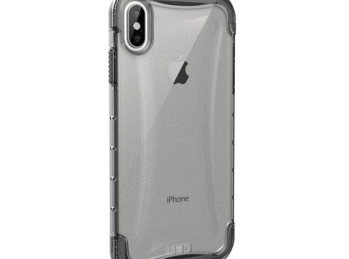 UAG UAG Hardcase Plyo Ice Clear iPhone Xs Max Transparant
