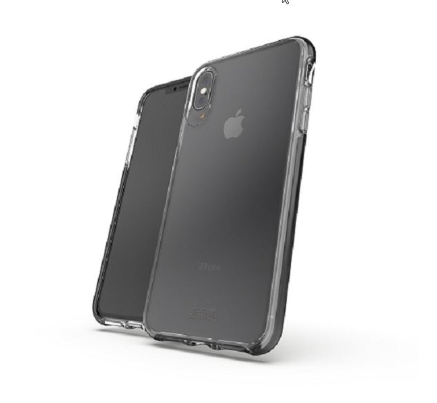 Gear4 D3O Piccadilly Black iPhone XS Max Transparant