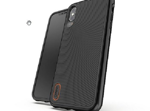 Gear4 Gear4 D3O Battersea Black/Orange iPhone XS Max