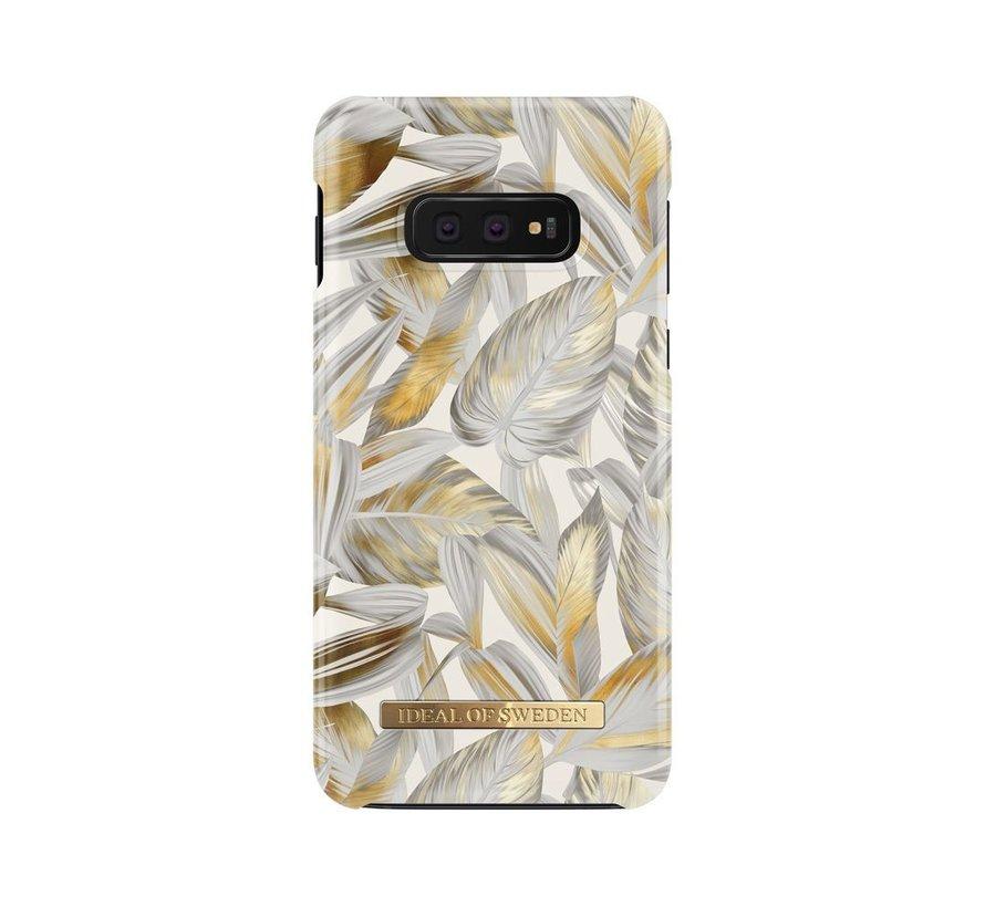 iDeal Fashion Hardcase Platinum Leaves Samsung Galaxy S10E