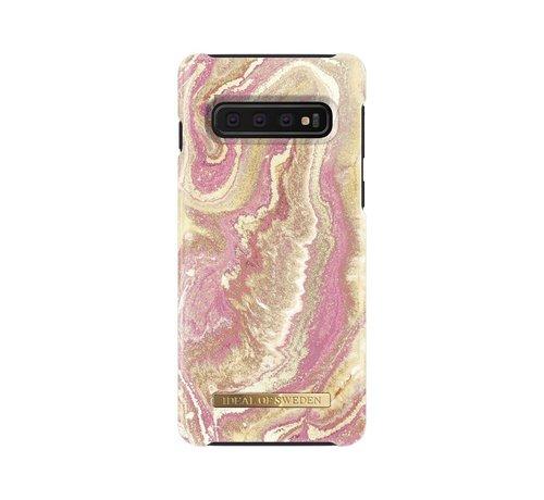 iDeal of Sweden iDeal Fashion Hardcase Golden Blush Marble Samsung Galaxy S10