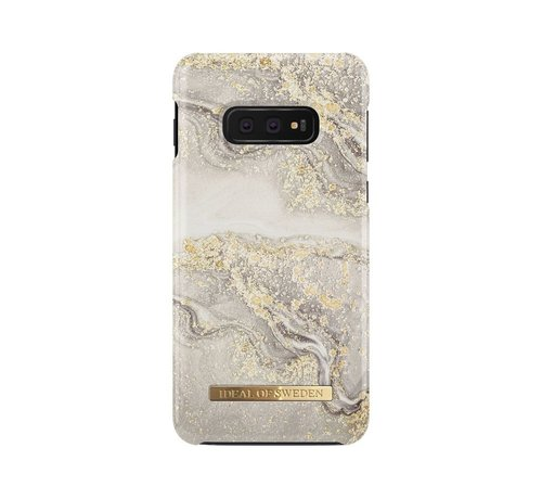 iDeal of Sweden iDeal Fashion Hardcase Sparkle Greige Marble Samsung Galaxy S10E