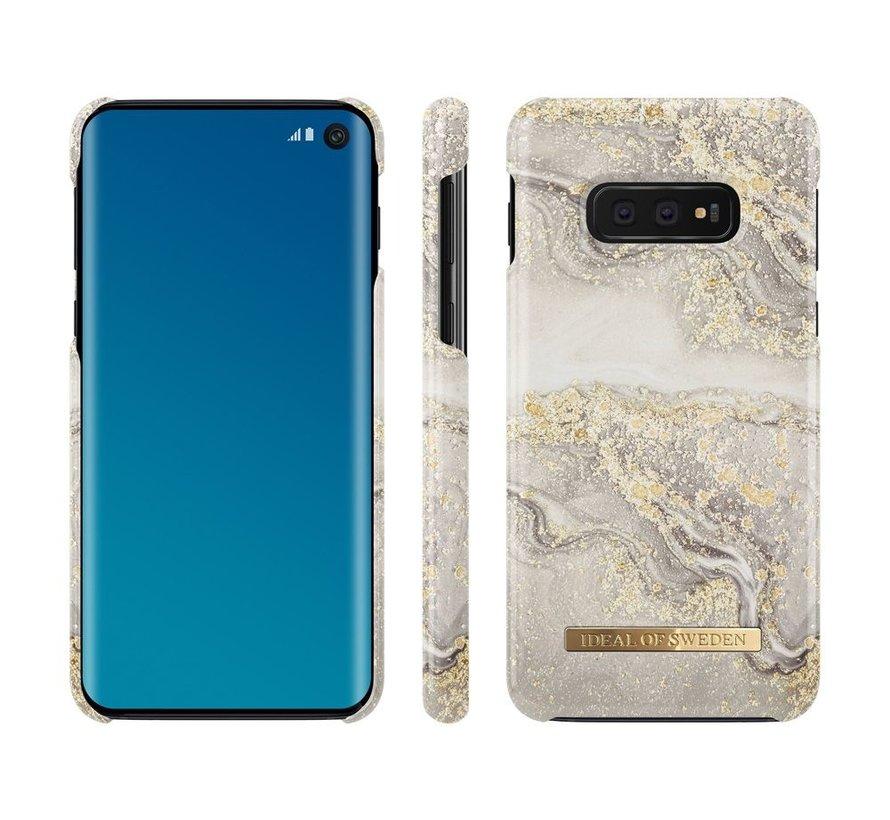 iDeal Fashion Hardcase Sparkle Greige Marble Samsung Galaxy S10E
