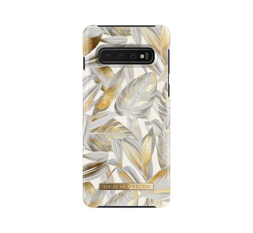 iDeal of Sweden iDeal Fashion Hardcase Platinum Leaves Samsung Galaxy S10