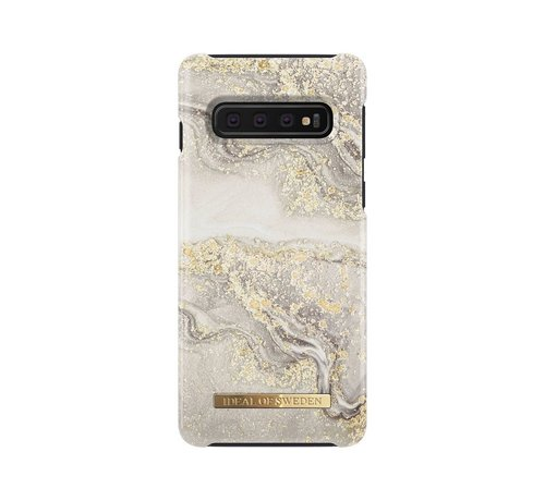 iDeal of Sweden iDeal Fashion Hardcase Sparkle Greige Marble Samsung Galaxy S10