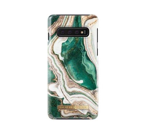 iDeal of Sweden iDeal Fashion Hardcase Golden Jade Marble Samsung Galaxy S10
