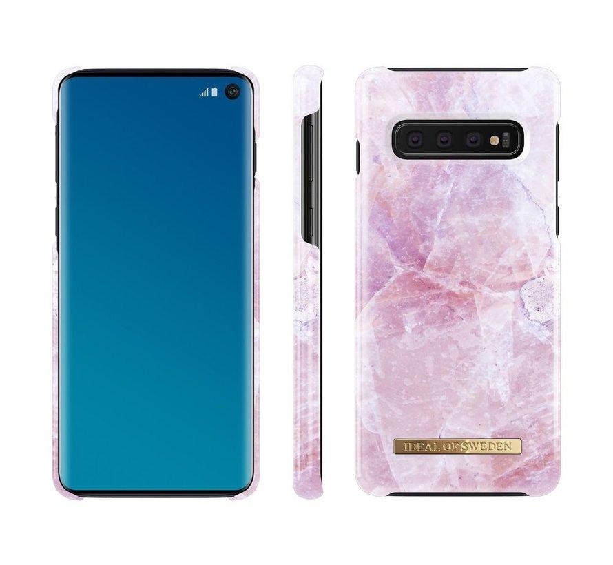 iDeal Fashion Hardcase Pilion Pink Marble Samsung Galaxy S10