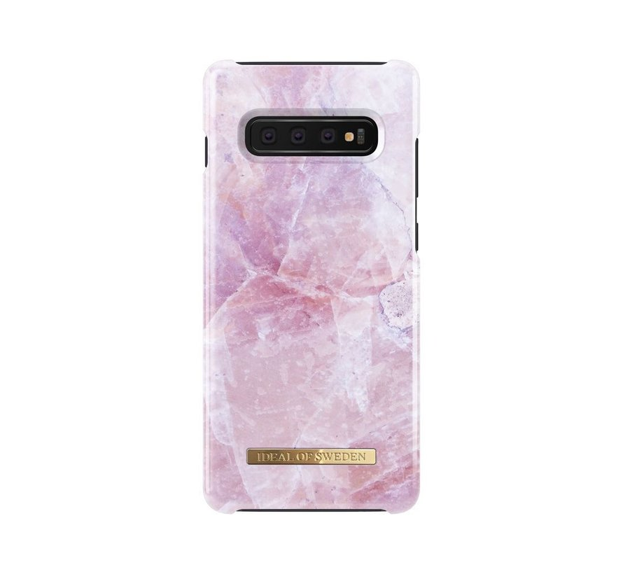iDeal Fashion Hardcase Pilion Pink Marble Samsung Galaxy S10 Plus