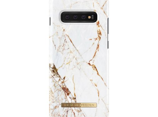 iDeal of Sweden iDeal Fashion Hardcase Carrara Gold Samsung Galaxy S10 Plus