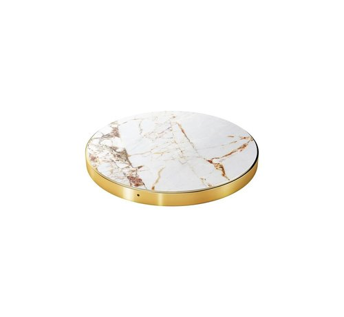 iDeal of Sweden iDeal Wireless Oplader Carrara Gold Marble