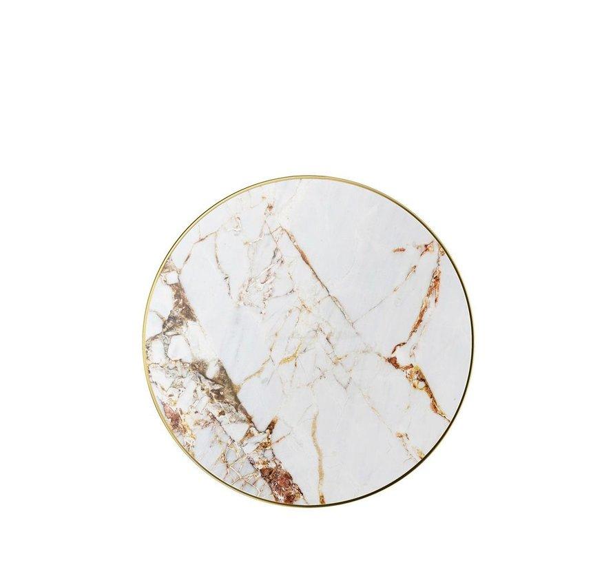 iDeal Wireless Oplader Carrara Gold Marble