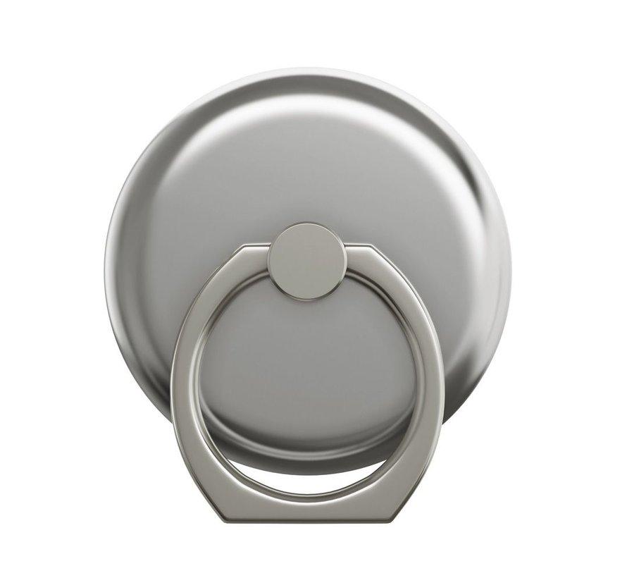 iDeal Magnetische Ring Houder Mount Silver