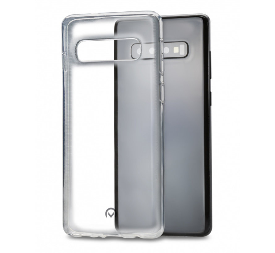 Mobilize Siliconen Case Gelly Samsung Galaxy S10 Transparant