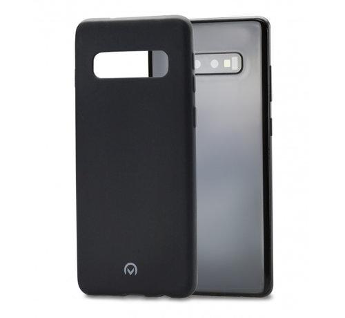 Mobilize Mobilize Siliconen Case Gelly Samsung Galaxy S10 Mat Zwart