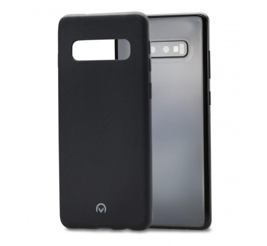 Mobilize Siliconen Case Gelly Samsung Galaxy S10 Mat Zwart