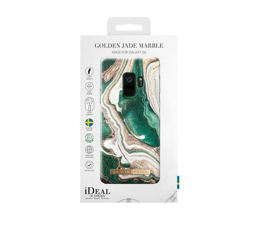 iDeal Fashion Case Golden Jade Marble Samsung Galaxy S9