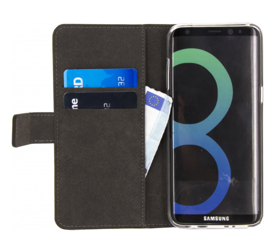 Mobilize Wallet Gelly Samsung Galaxy S8 Zwart