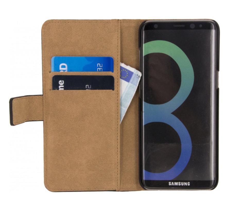 Mobilize Wallet Gelly Samsung Galaxy S8 Plus Zwart