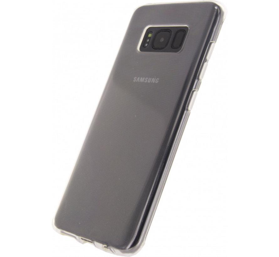 Mobilize Siliconen Case Gelly Samsung Galaxy S8 Plus Transparant