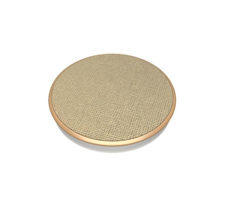 PopSockets Houder Saffiano Gold
