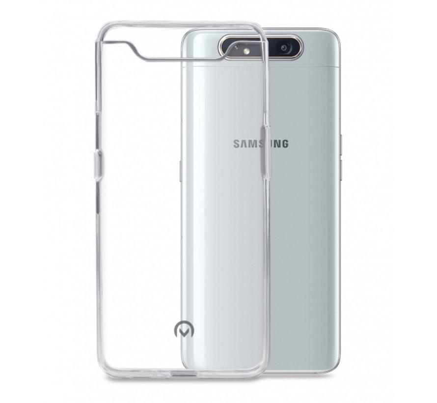 Mobilize Siliconen Case Gelly Samsung Galaxy A80 Transparant