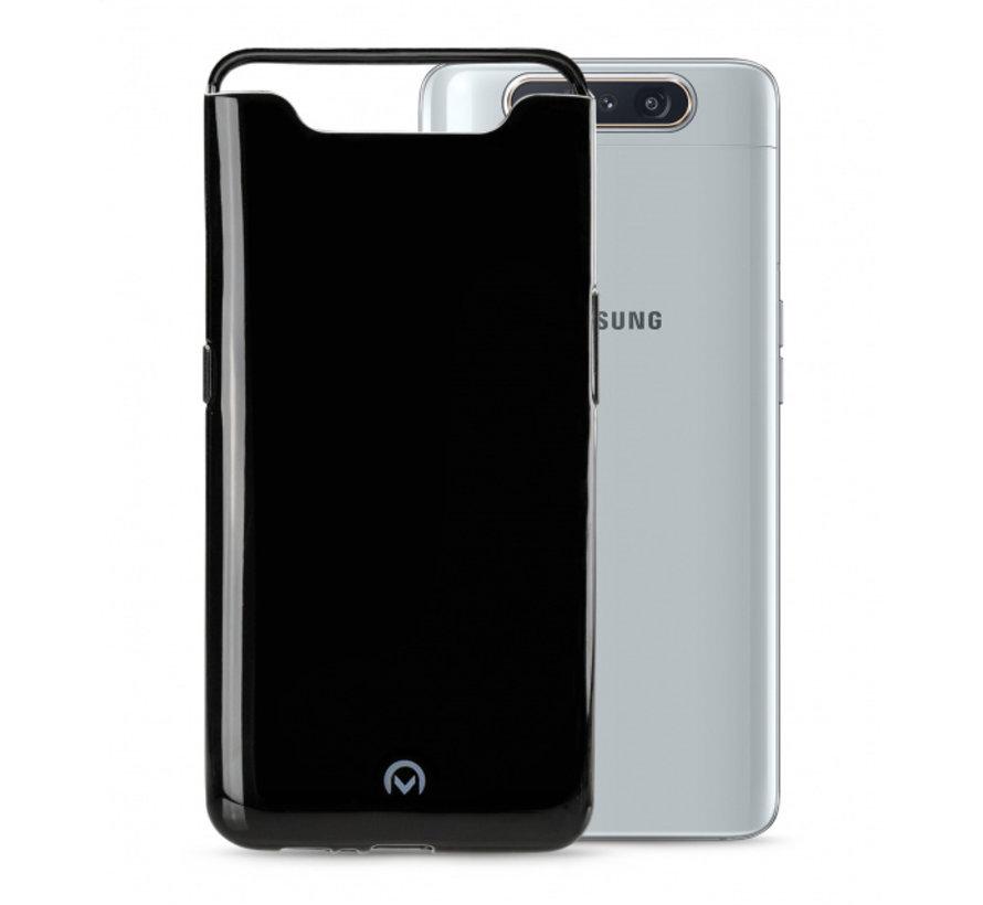 Mobilize Siliconen Case Gelly Samsung Galaxy A80 Zwart