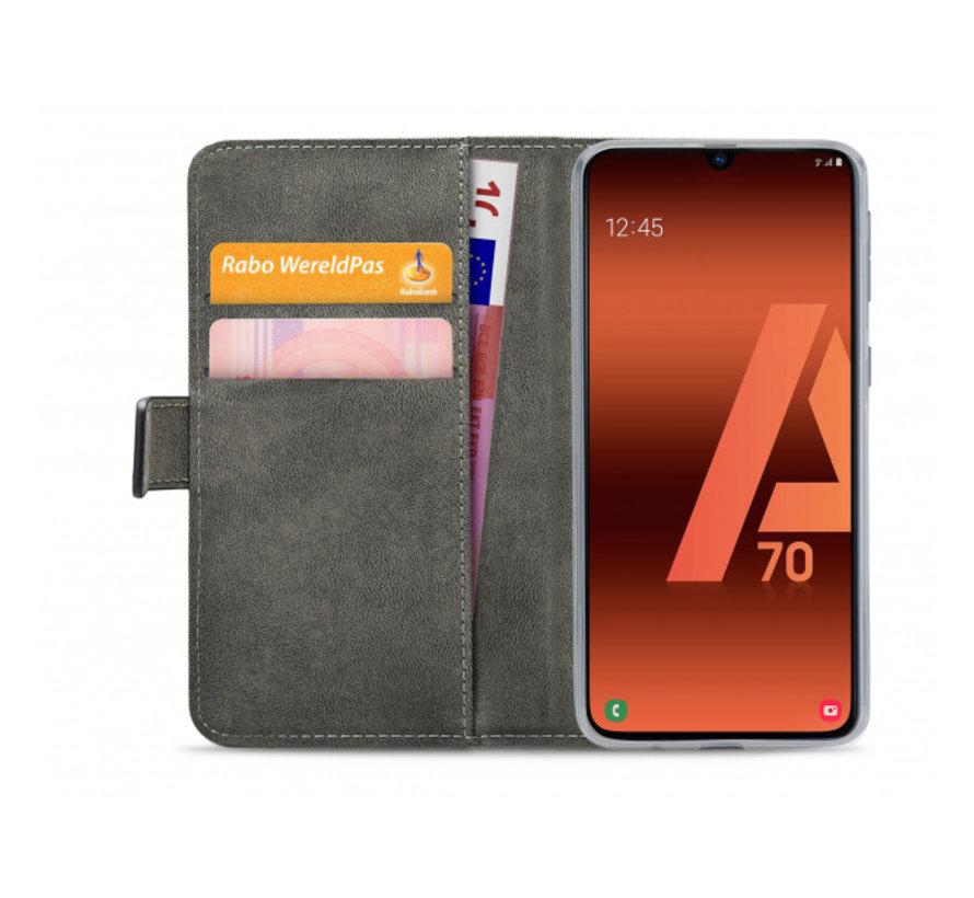 Mobilize Wallet Gelly Samsung Galaxy A70 Zwart