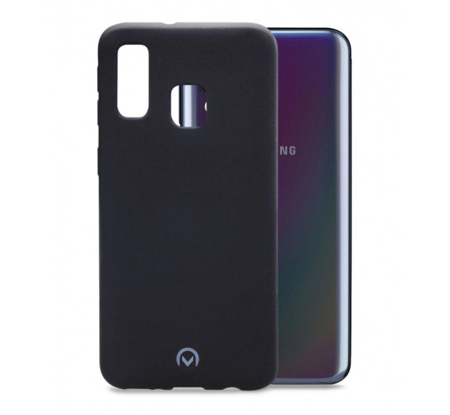 Mobilize Siliconen Case Gelly Samsung Galaxy A40 Mat Zwart