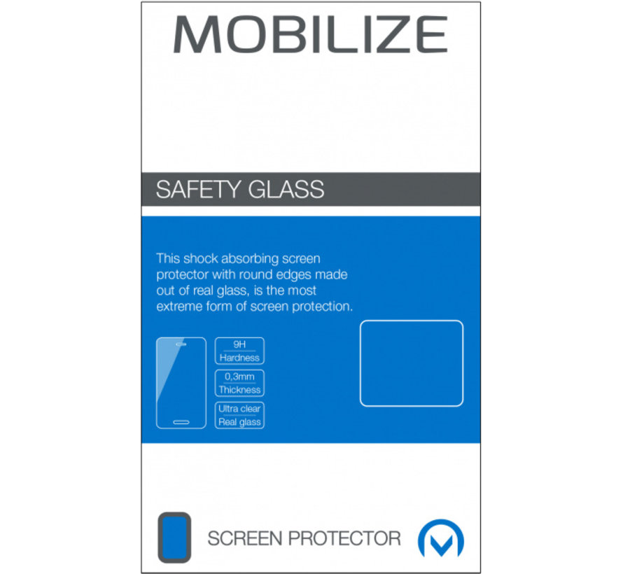 Mobilize Screenprotector Samsung Galaxy A40 Glas