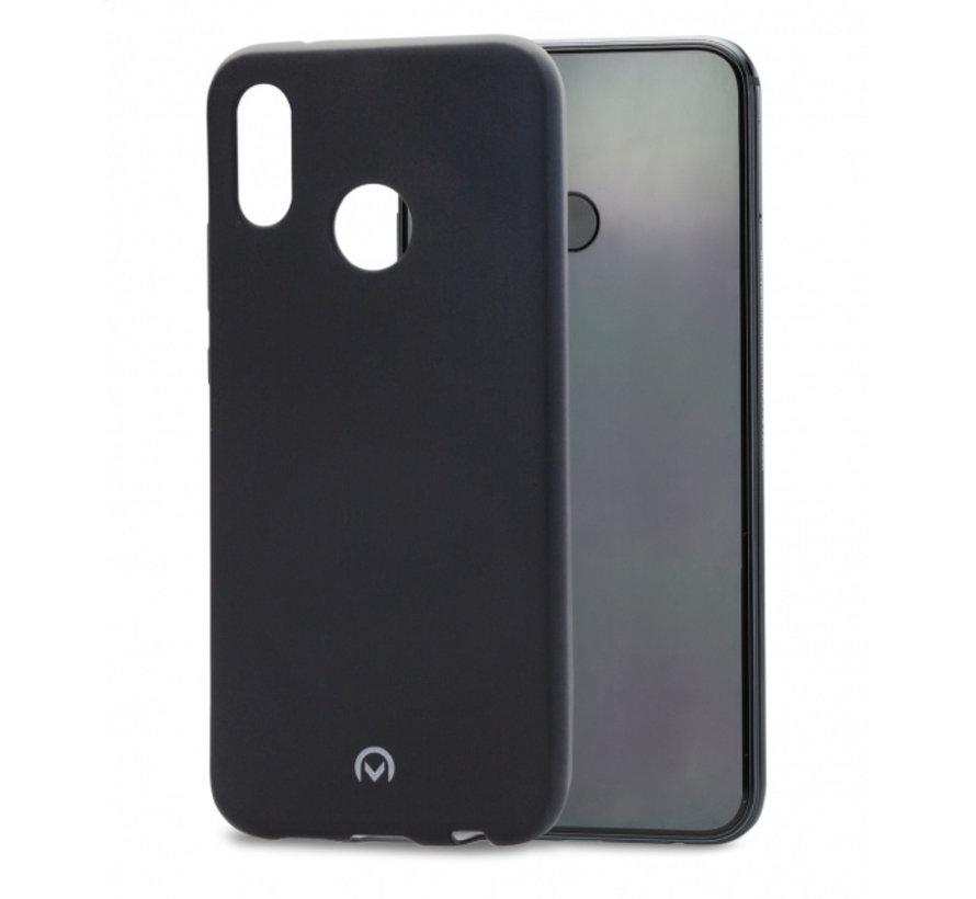 Mobilize Siliconen Case Gelly Huawei P20 Lite Mat Zwart
