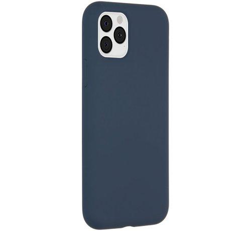 Accezz Accezz Liquid Siliconen Case iPhone 11 Pro Blauw