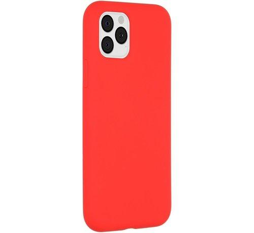 Accezz Accezz Liquid Siliconen Case iPhone 11 Pro Rood