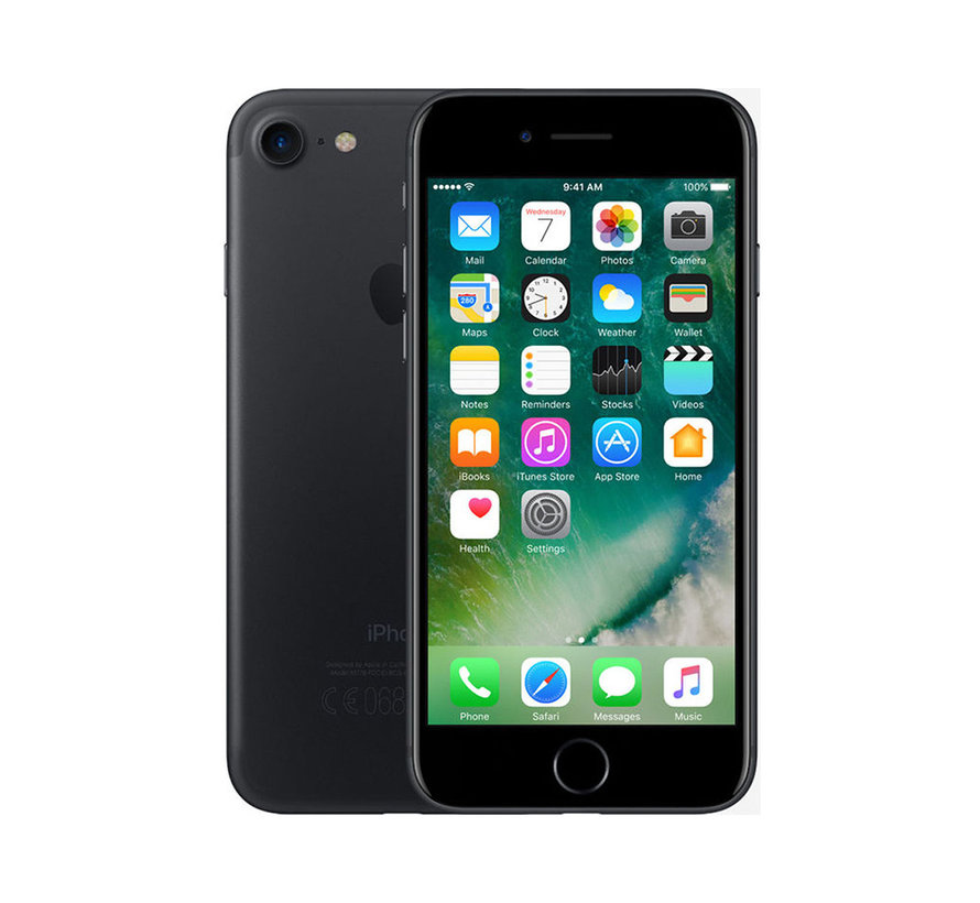 Renewd Refurbished iPhone 7 Zwart