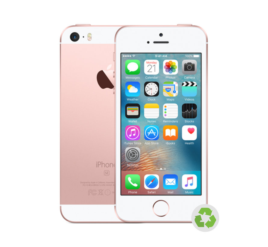 Renewd Refurbished iPhone SE Rosé